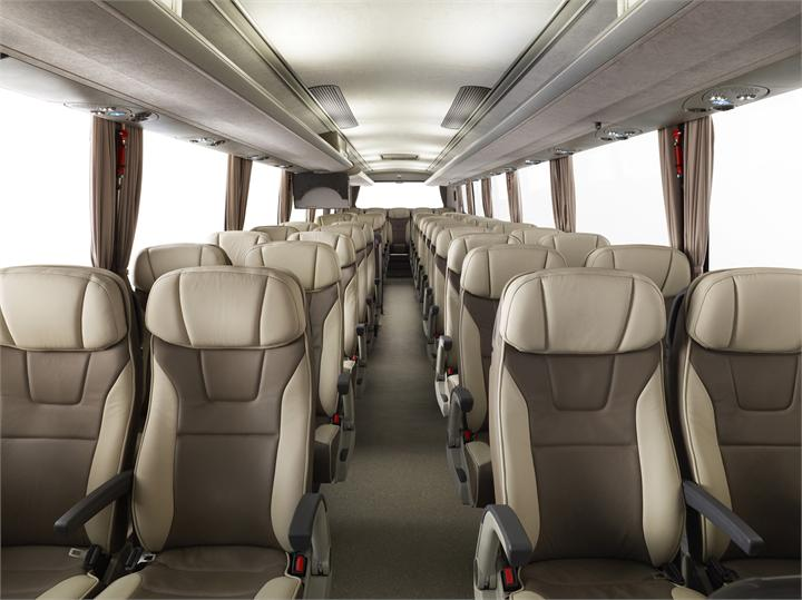 beige brusa coach seating